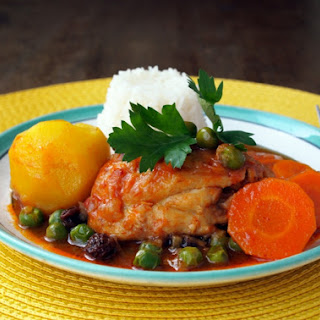 Spanish Chicken Curry Recipes.