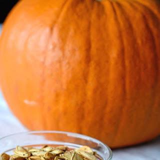 Roasted Garlic Pumpkin Seeds.
