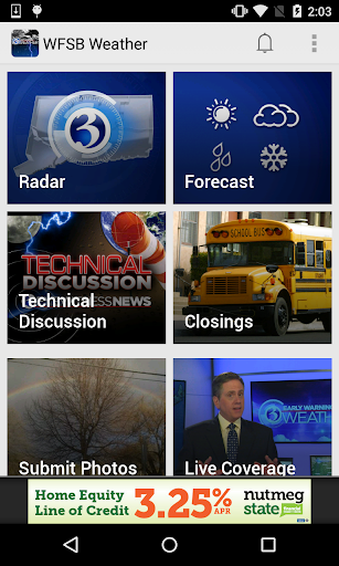 Hartford Weather Radar - WFSB3