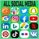 All social media and social network app for PC-Windows 7,8,10 and Mac