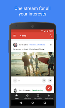 Google+ APK screenshot thumbnail 1