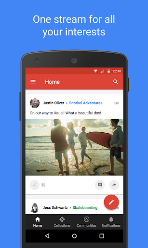Google+ screenshot for Android