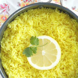 Turmeric Lemon Rice Recipe