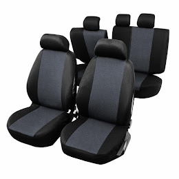 Huse scaune cu airbag pt bancheta rabatabila fractionata, 9 bucati