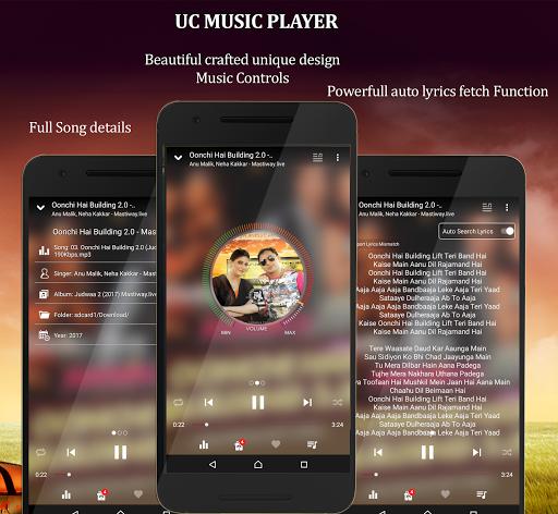 UC Music Player 2018 1.0 screenshots 6