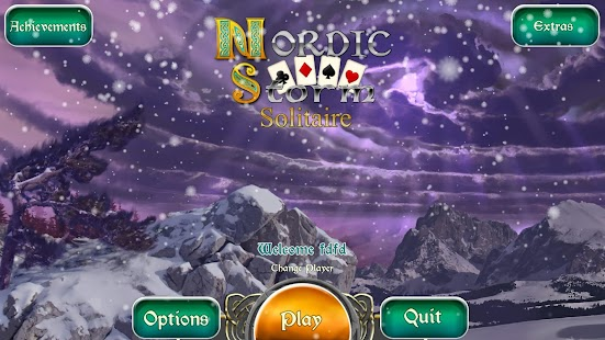 Nordic Storm Solitaire (Full) Screenshot