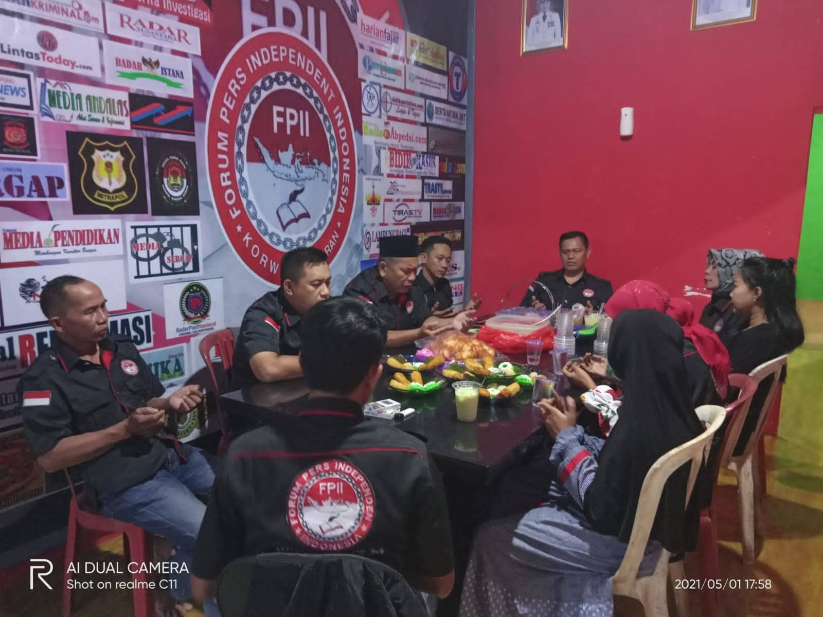 Jalin Silaturrahmi dan Kekompakan FPII Korwil Pesawaran Gelar Buka Puasa Bersama