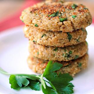 Spring Herb Quinoa Patties