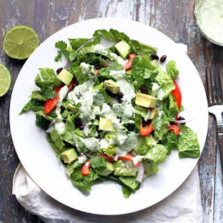 Vegetarian Mexican Chopped Salad.