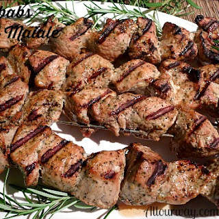 Grilled Pork Kebabs – Spiedini di Maiale – All Our Way.