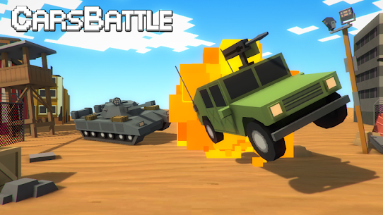 Tanks VS Cars Battle 1.62 APK + MOD Download 1