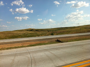 Photo: Still Kansas... 450mile from east to west.