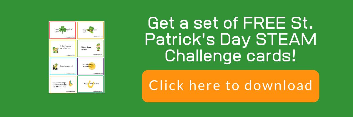 st patrick stem challenge cards