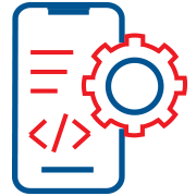 measurement and iteration icon