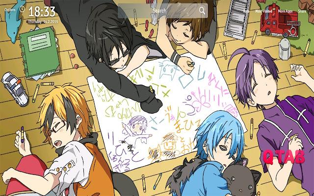 Servamp Wallpapers Theme Anime New Tab
