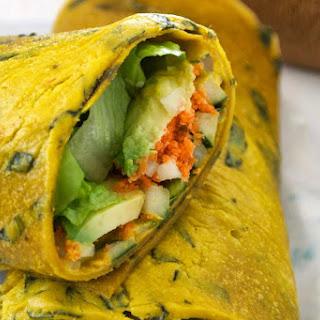 Mango Coconut Basil Wraps [Vegan, Raw, Gluten-Free]