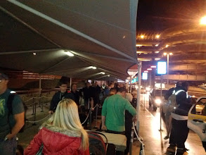Photo: Longest taxi stand line I've ever seen!