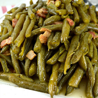 Southern Style Green Beans.