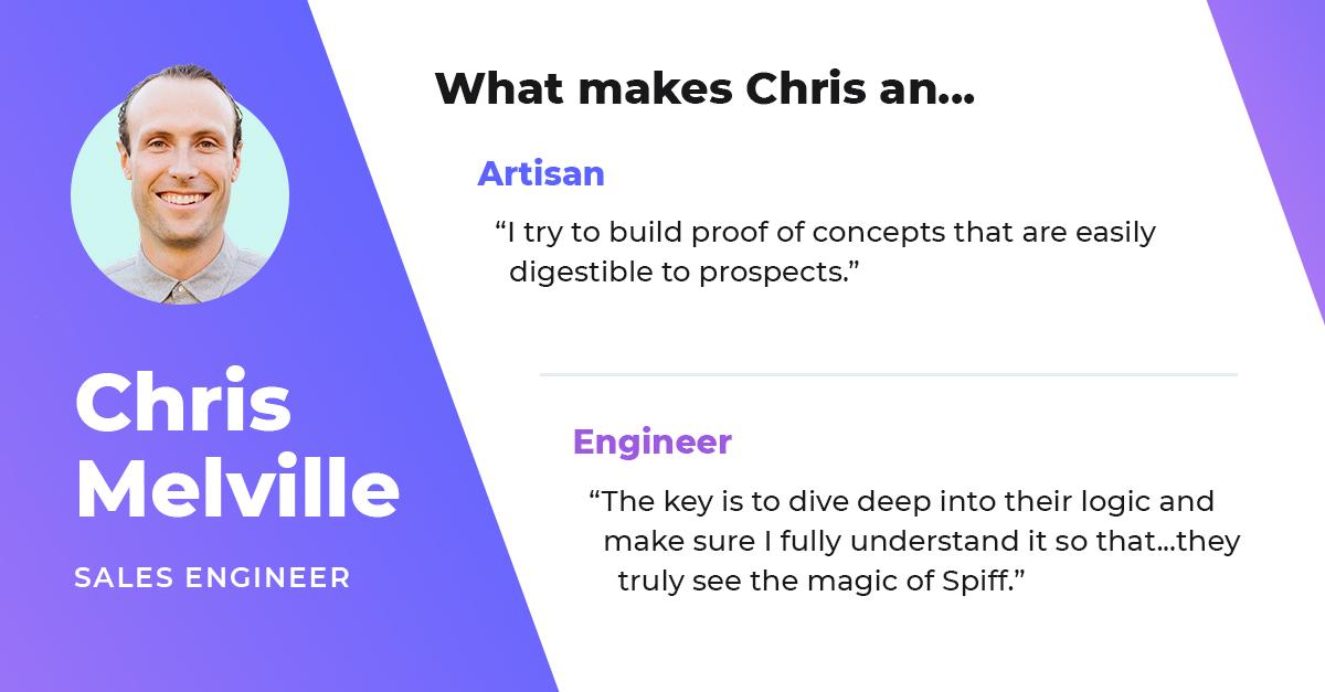 chris melville sales engineer