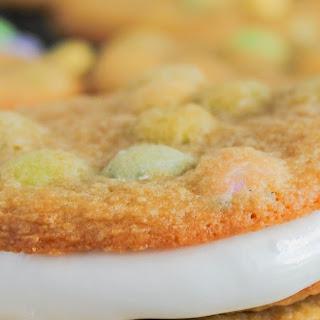 M&M's® Marshmallow Cream Cookie Sandwiches.