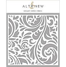 Altenew Stencil 6X6 - Elegant Swirls