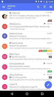 Nine Mail - Best Biz Email App- screenshot thumbnail