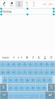 Screenshot of MANLAJU Smart Keyboard Skin