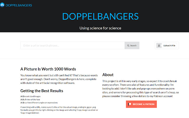 DoppelBangers Search