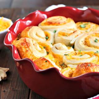 Buttery Garlic & Cheddar Rolls