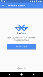 BlueBorne Vulnerability Scanner by Armis- screenshot thumbnail