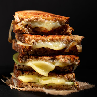 Sweet and Savory Grilled Cheese.