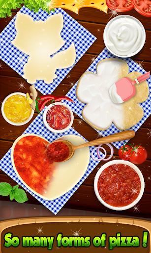Pizza Chef - cute pizza maker game 4.8 de.gamequotes.net 4