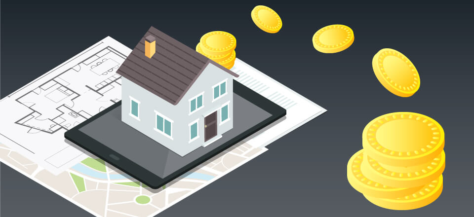 Tokenized mortgage
