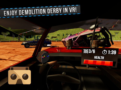 Demolition Derby VR Racing- screenshot thumbnail