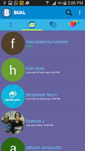 BualApp - náhled