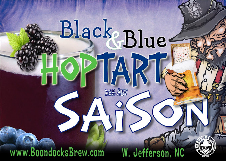 Logo of Boondocks Blueberry Hoptart Saison
