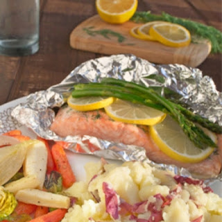 Lemon Roasted Salmon