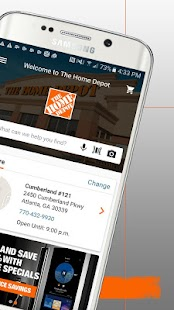 The Home Depot Screenshot 2