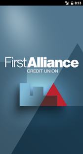 First Alliance Credit Union- screenshot thumbnail