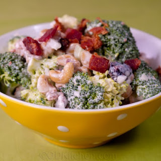 Healthy Broccoli Cashew Salad