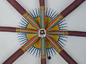 Photo: Liebfrauenkirche: Schlussstein der Vierung
