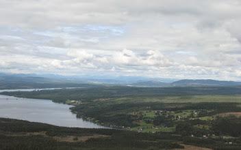 Photo: Laxviken och Hotagssjön