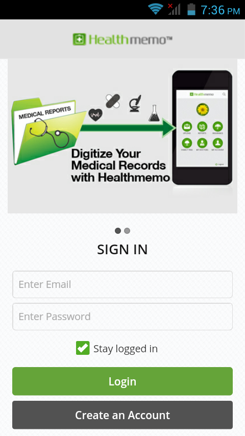 Healthmemo - eHealth Records- screenshot