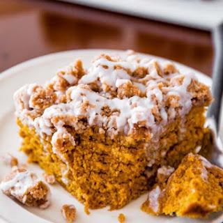 Iced Pumpkin Coffee Cake.