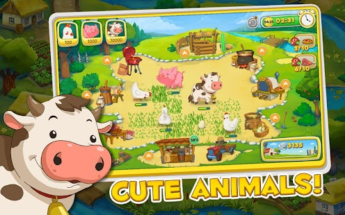 Jolly Days Farm: Time Management Game - náhled