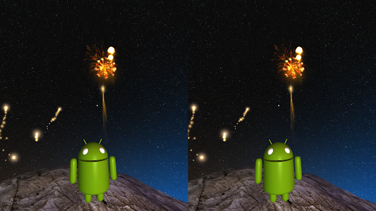 Fireworks VR Show on Cardboard screenshot 1