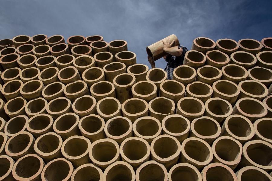 circles by Salih Arikan - Professional People Factory Workers