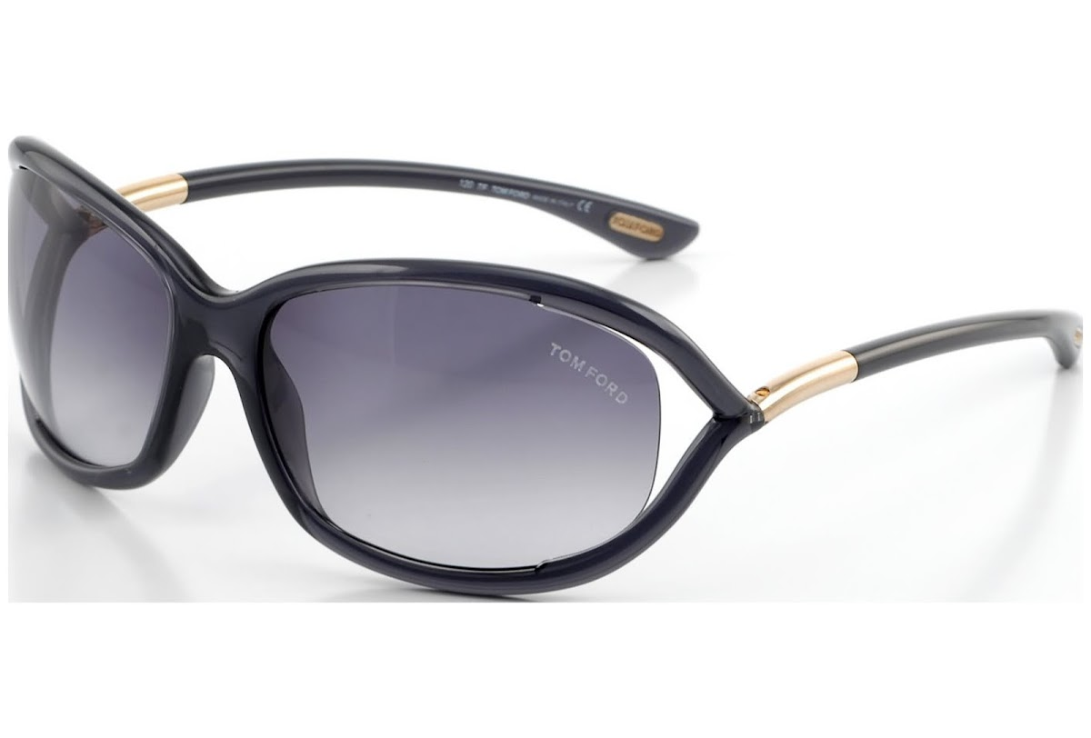6167ac57c78c0 Sunglasses Tom Ford Jennifer FT0008 C61 0B5 (grey other   gradient smoke)