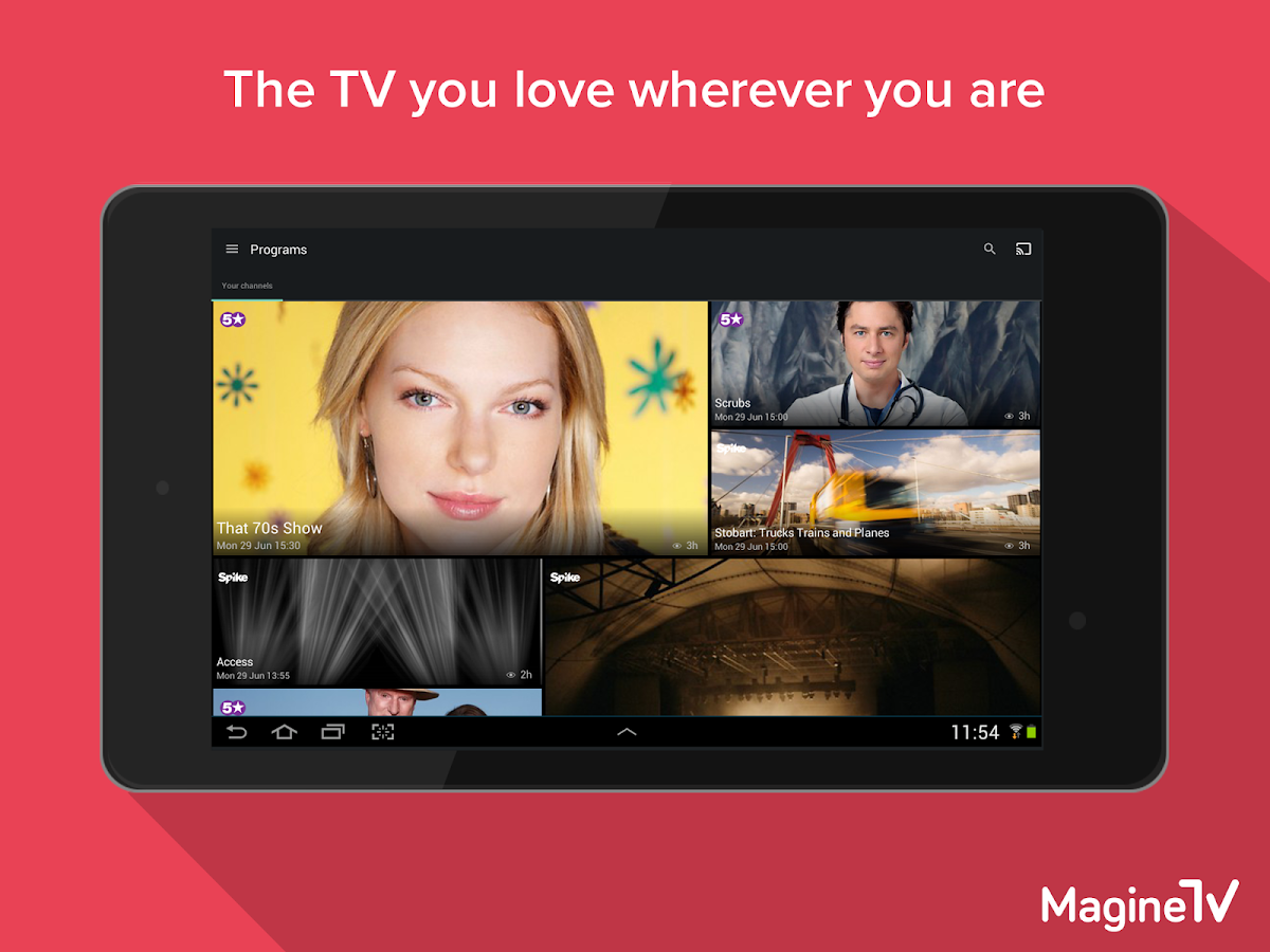 Magine TV - screenshot