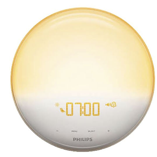 Philips Wake uplight Väckarklocka